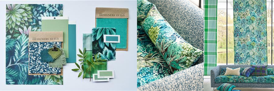Connected Colour example from Designers Guild
