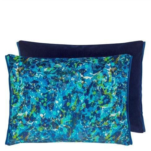 Designers Guild Cushion Odisha Cobalt
