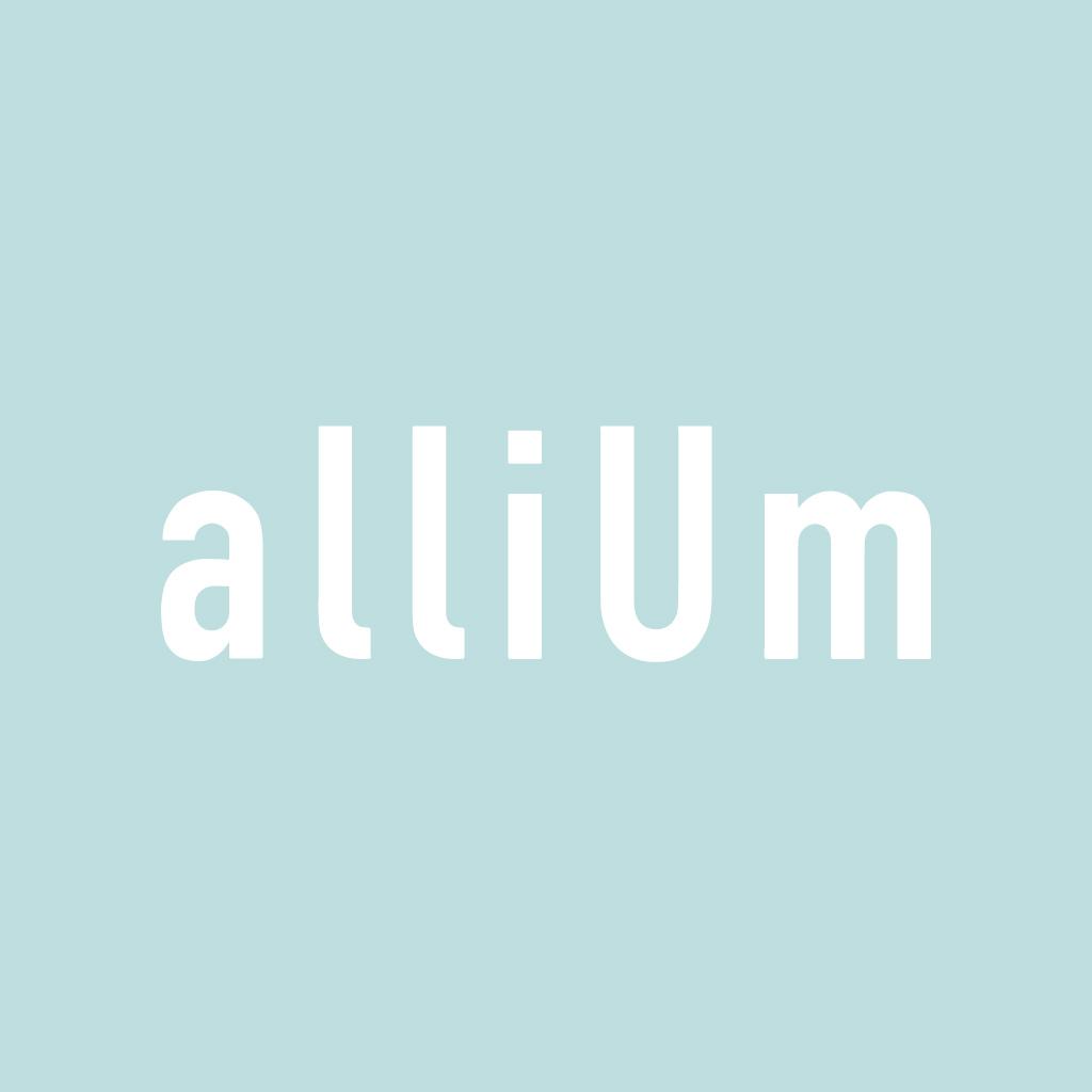 Thread Design Drill Navy Pillowcase | Allium Interiors