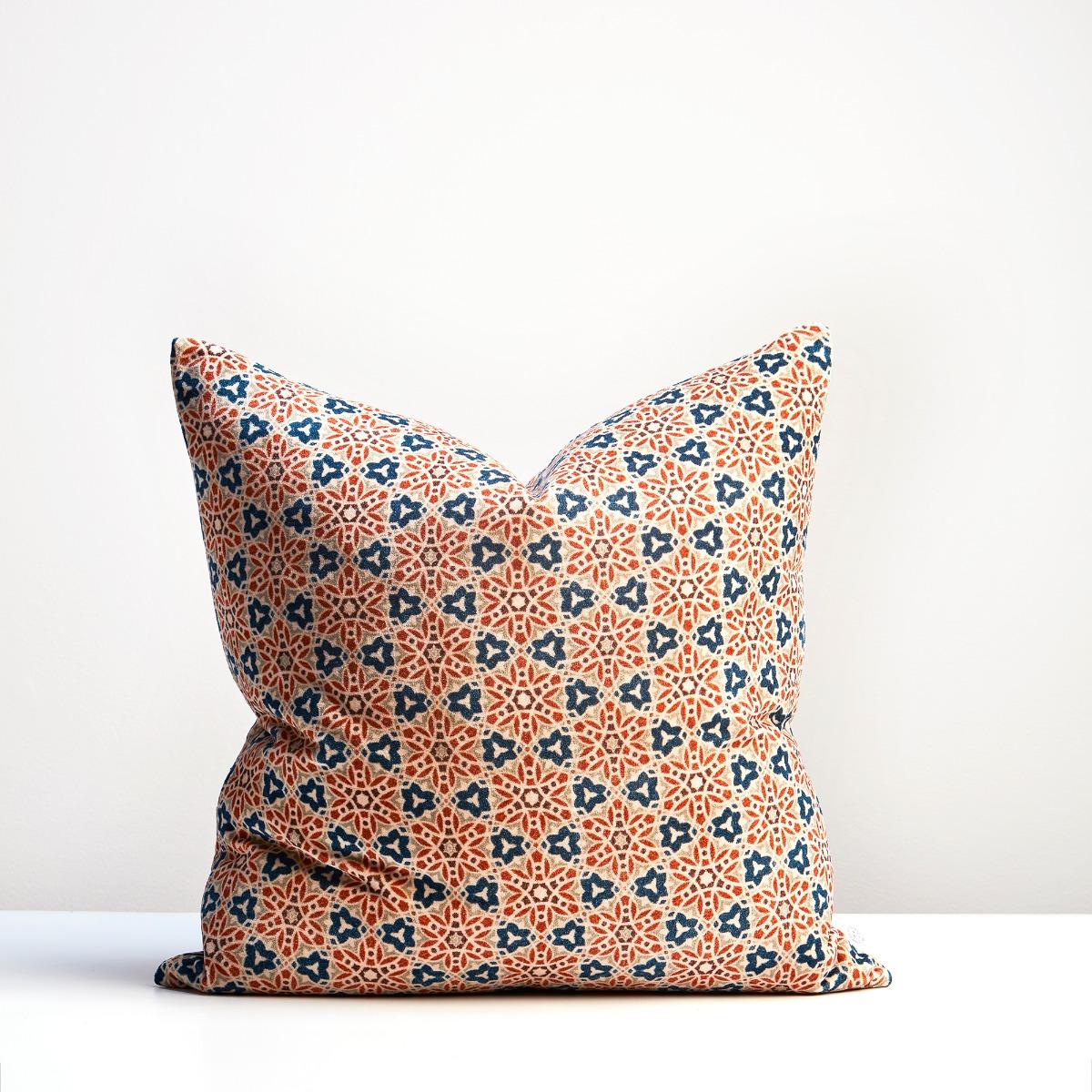 Thread Design Arabesque Velvet Cushion