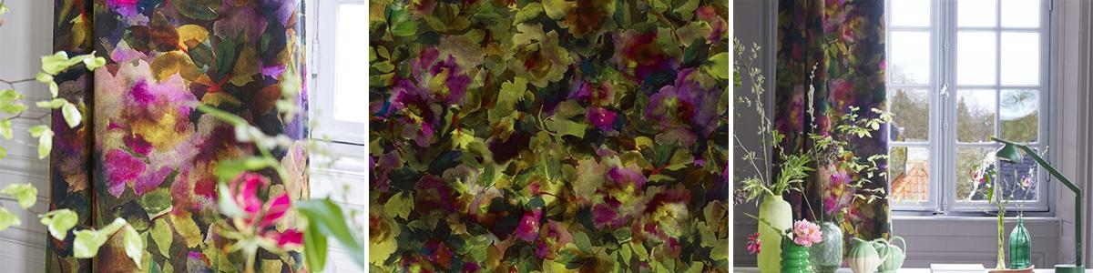 Designers Guild Fabric Surimono Berry